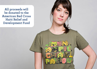 Threadless Launches Haitian Tee – 100% of Proceeds for the American Red Cross!