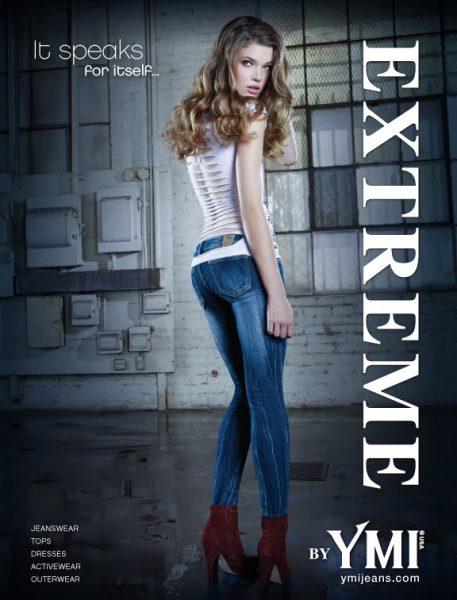 YMI Extreme Jeans Stretch Denim Leggings