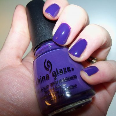 China Glaze Up & Away Collection plus Grape Pop Nail Polish Lacquer Review with Photos