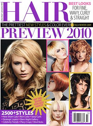 Spring / Summer 2010 Hairstyles, Hair Trends, & Hair Cuts