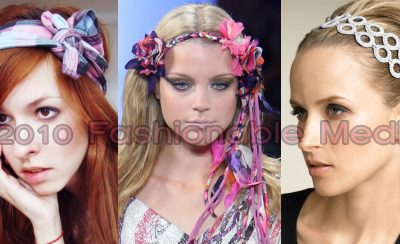 Spring / Summer 2010 Hairstyles, Hair Trends & Hair Accessories – Headbands, Clips & Bows