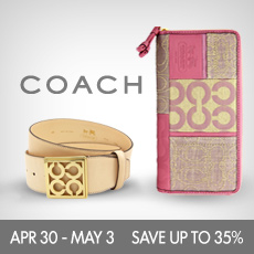 Coach Accessories on Beyond the Rack