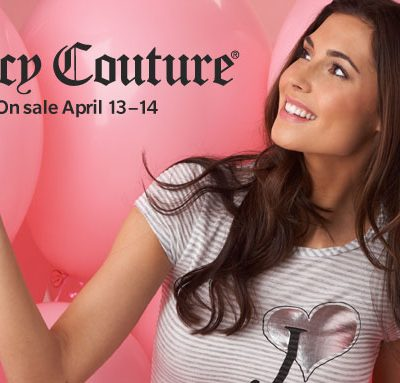 Juicy Couture Takes over Hautelook!