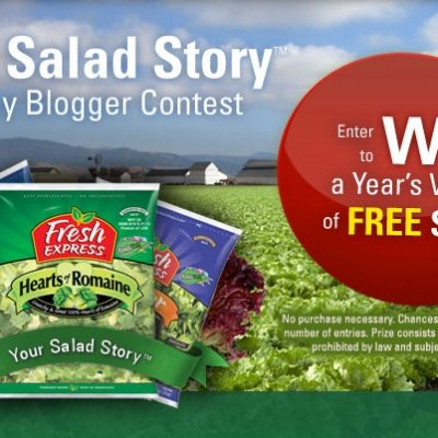 Win A Year's Worth of Fresh Express Salad! Giveaway!