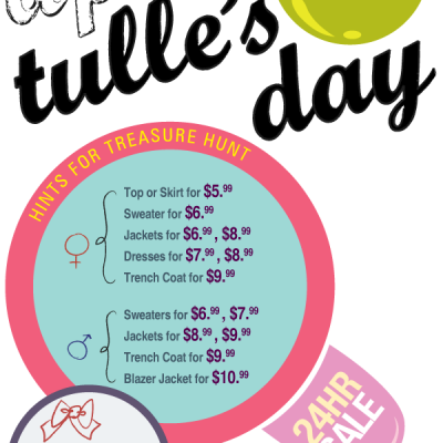 Check Out Tulle's Day Starting Tonight!