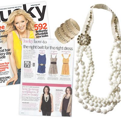GIVEAWAY: Stella & Dot St. Tropez Statement Necklace Featured in the May 2010 issue of Lucky Magazine *CLOSED*
