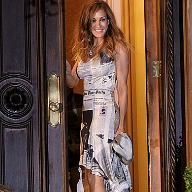 Carrie Bradshaw Wears John Galliano For Christian Dior