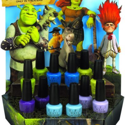 OPI Shrek Forever After Collection of Bright Nail Lacquer Colors