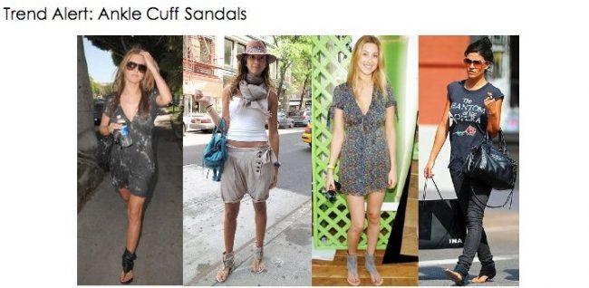 Trend Alert: Ankle Cuff Sandals