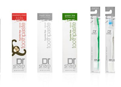 Dr. Sharp Natural Fluoride-Free Toothpaste & Mouthwash Offers Eco-Friendly Alternative