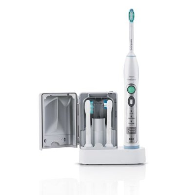 Get Whiter Teeth with Philips Sonicare FlexCare Rechargeable Sonic Toothbrush Review