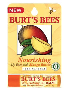 Burt's Bees NEW Lip Balm with Acai Berry and Mango Butter