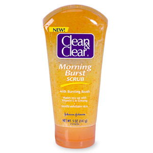 Clean and Clear Morning Burst Facial Scrub Review