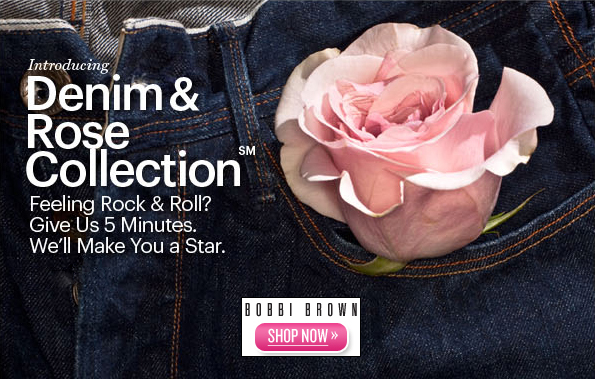 Bobbi Brown's Denim & Rose Makeup Collection (Fall 2010)
