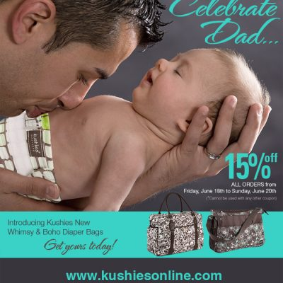 Kushies Father's Day Sale! Get 15% Off!