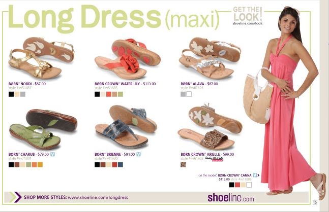 Long Dresses Shoes