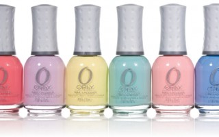 Orly Sweet Collection of Pastel Nail Lacquer Polish