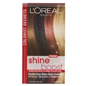 L'Oreal Colorist Secrets Crystal Clear Shine Boost Gloss System
