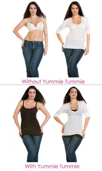 Yummie Tummie Nursing Tanks for The Postpartum Belly