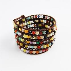 Fashion Trend:  Leather Wrap Bracelets