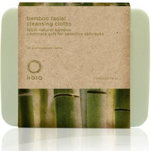 Best Natural Eye Makeup Remover from Kaia Naturals – Bamboo Facial Cleansing Cloths