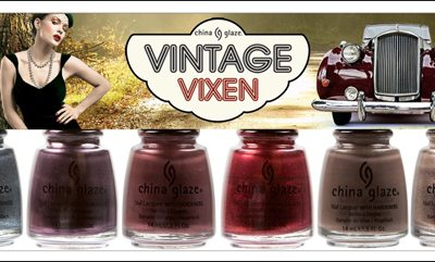 China Glaze Vintage Vixen Retro Nail Polish Collection for Fall 2010