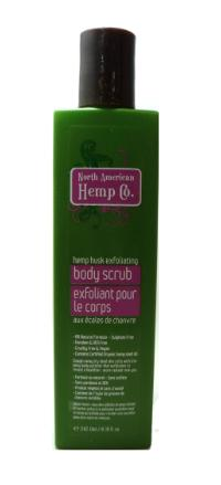 Gentle Natural Body Scrub – North American Hemp Co. Review