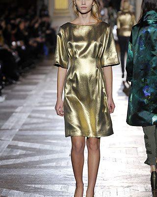 Fall 2010 Fashion Trends: Gold Rush