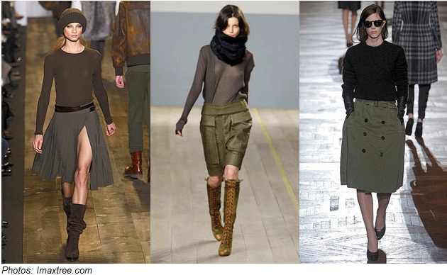 Fall 2010 Shoe Trends: Military Chic