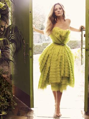 Drew Barrymore in Harper's Bazaar