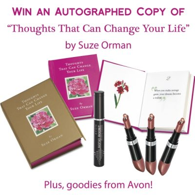Win an Autographed Copy of Suze Orman's New Book *CLOSED*