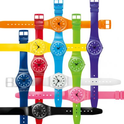 Swatch Watch Color Codes Collection