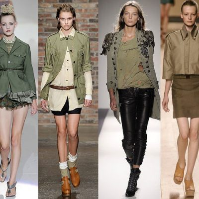 Are You Wearing Military Chic?