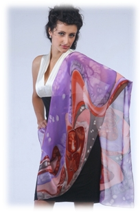 Set Yourself Apart With a Fabulous Silk Scarf!