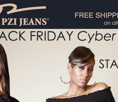 Black Friday Sale – PZI Jeans 25% Off