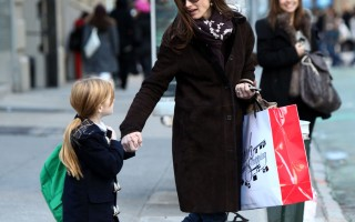 Brooke Shields Spotted in Soho Wearing Fit Flop Superboots