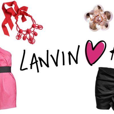 Lanvin at H&M Starting November 20!