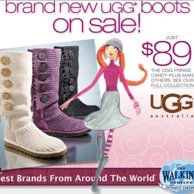 Gift Idea Under $100: UGG Boots On Sale for $89