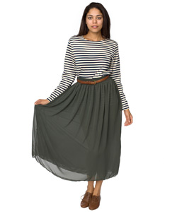 Dress Up Your Jeans With a Skirt