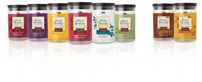 Product Review: Febreze Wooden Wick Candles