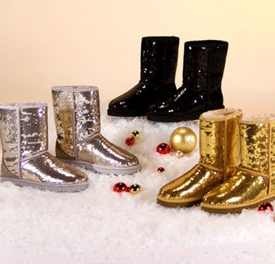 The Sparkliest Uggs Ever