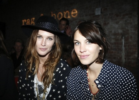 What Not To Wear Erin 2011. Alexa Chung and Erin Wasson at