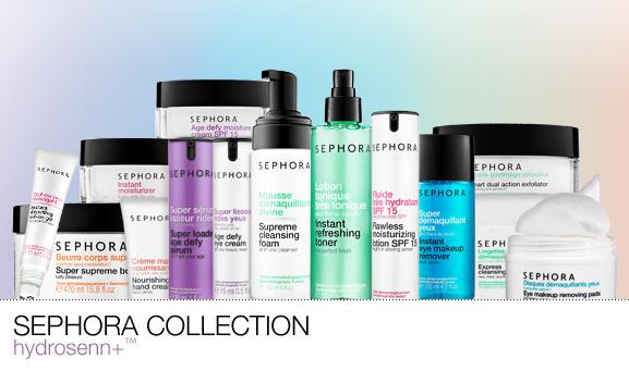 HydroSenn+™ Skincare Line from Sephora