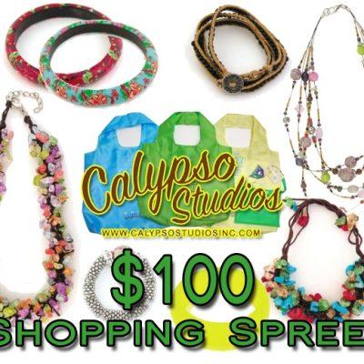 WIN a $100 Shopping Spree to Calypso Studios! *CLOSED*