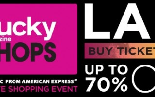 Win 2 VIP Tickets to Lucky Shops Event in LA!