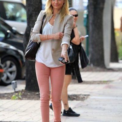 Trend Alert: Pastel Skinny Jeans