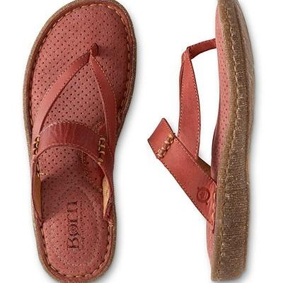 Born Treat Leather Thong Sandal Review