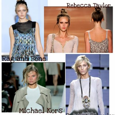Easy Spring Hair: Messy Updos
