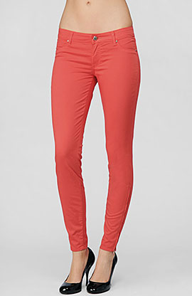 Trend Alert: Pastel Skinny Jeans - The Fashionable Housewife