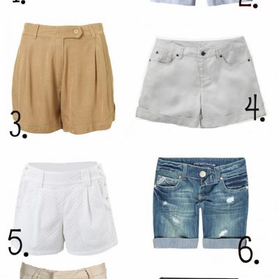 Our Favorite Staple Shorts for Spring/Summer